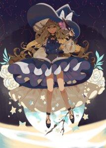 Rating: Safe Score: 23 Tags: dress kirisame_marisa shichimi touhou witch User: BattlequeenYume