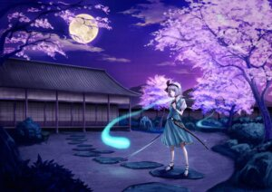Rating: Safe Score: 12 Tags: dokuro konpaku_youmu myon touhou User: charunetra