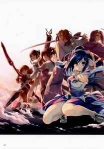 Rating: Safe Score: 7 Tags: amaduyu_tatsuki animal_ears horns sword thighhighs utawarerumono utawarerumono_itsuwari_no_kamen weapon User: Radioactive