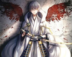 Rating: Safe Score: 16 Tags: abandon_ranka armor japanese_clothes male touken_ranbu tsurumaru_kuninaga wings User: charunetra