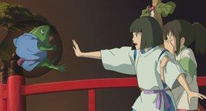 Rating: Safe Score: 5 Tags: frog_man nigihayami_kohaku_nushi ogino_chihiro sen_to_chihiro_no_kamikakushi studio_ghibli User: Radioactive