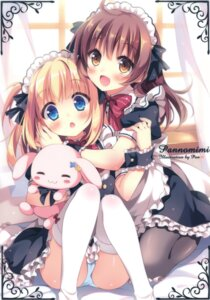 Rating: Questionable Score: 100 Tags: maid pan pan_no_mimi pantsu pantyhose tagme thighhighs User: Twinsenzw