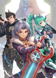 Rating: Safe Score: 6 Tags: alvis armor gonzarez klaus malos pneuma_(xenoblade_2) sword tagme thighhighs xenoblade xenoblade_chronicles xenoblade_chronicles_2 zanza User: darkmetaknight9