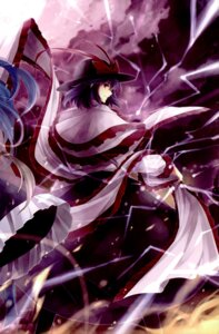 Rating: Safe Score: 10 Tags: hagiwara_rin nagae_iku touhou vita_(circle) User: Radioactive