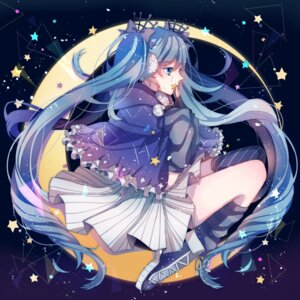 Rating: Safe Score: 25 Tags: dress fuyu_no_yoru_miku hatsune_miku ume_neko vocaloid User: charunetra