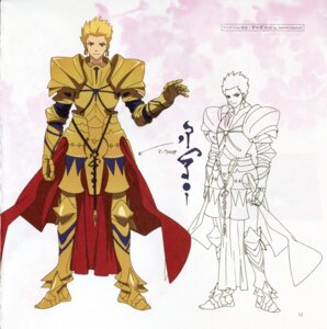 Rating: Safe Score: 11 Tags: armor bleed_through character_design fate/extra fate/extra_ccc fate/stay_night gilgamesh_(fsn) male paper_texture type-moon User: DDD