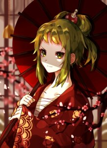 Rating: Safe Score: 22 Tags: gumi kimono nichya sarashi umbrella vocaloid User: charunetra