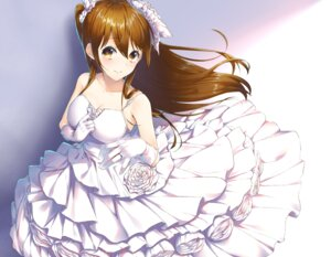 Rating: Safe Score: 29 Tags: cleavage dress ogiso_setsuna wakuta_chisaki wedding_dress white_album white_album_2 User: Mr_GT