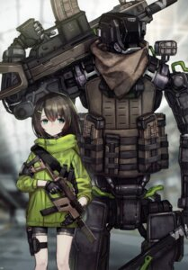 Rating: Safe Score: 30 Tags: 2d bike_shorts gun mecha tagme User: kiyoe