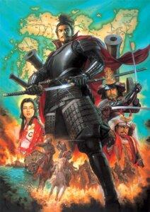 Rating: Safe Score: 9 Tags: armor kimono nagano_tsuyoshi sword weapon User: blooregardo