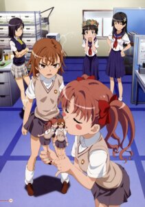 Rating: Safe Score: 27 Tags: konori_mii misaka_mikoto saten_ruiko seifuku shirai_kuroko to_aru_kagaku_no_railgun to_aru_majutsu_no_index uiharu_kazari yuri User: PPV10
