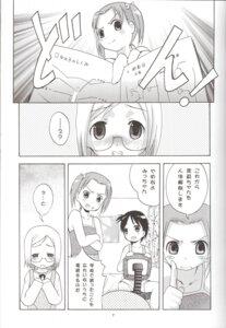 Rating: Safe Score: 4 Tags: arino_hiroshi ichigo_mashimaro itou_chika matsuoka_miu megane monochrome sakuragi_matsuri studio_big-x User: petopeto