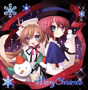 Rating: Safe Score: 7 Tags: christmas heterochromia room603 rozen_maiden souseiseki suiseiseki User: Shamensyth