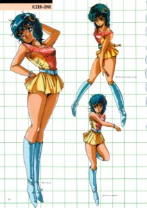 Rating: Safe Score: 6 Tags: character_design cleavage dress hirano_toshihiro kanou_nagisa tatakae!!_iczer-1 User: Radioactive
