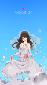 Rating: Safe Score: 22 Tags: dress oohashiyou wedding_dress User: vanilla