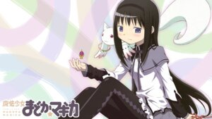 Rating: Safe Score: 17 Tags: akemi_homura jpeg_artifacts kyubey pantyhose puella_magi_madoka_magica wallpaper User: Spidey