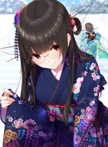 Rating: Safe Score: 44 Tags: choukai_(kancolle) kantai_collection kimono maya_(kancolle) megane yukichi_(sukiyaki39) User: mash