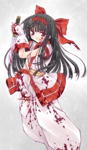 Rating: Questionable Score: 17 Tags: blood nakoruru samurai_spirits snk User: cyanoacry