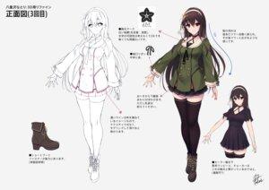 Rating: Questionable Score: 18 Tags: .live character_design fukai_ryosuke line_art seifuku tagme thighhighs User: Dreista