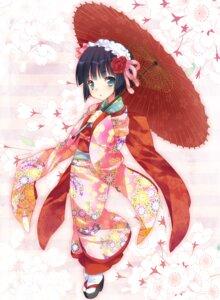 Rating: Safe Score: 50 Tags: ech ikoku_meiro_no_croisee kimono yune User: Nekotsúh