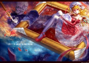 Rating: Safe Score: 20 Tags: dress flandre_scarlet jiao_huashe thighhighs touhou wings User: Mr_GT