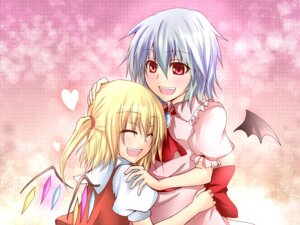 Rating: Safe Score: 5 Tags: flandre_scarlet hitsujisan remilia_scarlet touhou User: Radioactive