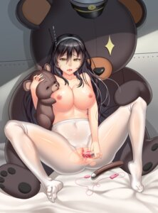 Rating: Explicit Score: 77 Tags: ashigara_(kancolle) dildo feet kantai_collection lucknight masturbation nipples nopan pantyhose pussy pussy_juice topless torn_clothes uncensored User: Mr_GT