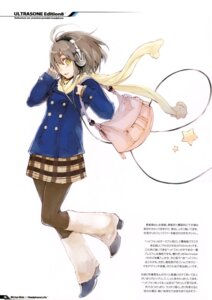 Rating: Safe Score: 21 Tags: fujishima headphones pantyhose raving_phantom seifuku User: Hatsukoi