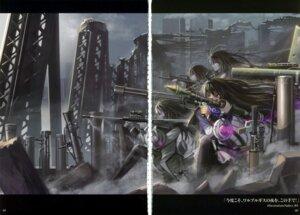 Rating: Safe Score: 14 Tags: akemi_homura gun moe_shoujo_ryouiki pantyhose puella_magi_madoka_magica saber_01 User: fireattack