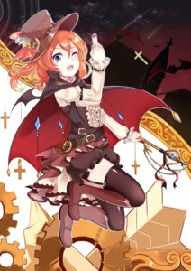 Rating: Safe Score: 25 Tags: kousaka_honoka love_live! stockings thighhighs weapon wings xinghuo User: Mr_GT