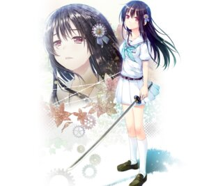 Rating: Safe Score: 64 Tags: akabeisoft2 alpha boku_no_hitori_sensou inuduca_rumi seifuku sword User: moonian