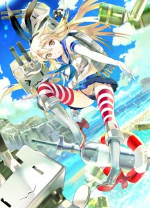 Rating: Questionable Score: 37 Tags: 119 kantai_collection pantsu rensouhou-chan shimakaze_(kancolle) thighhighs thong User: blooregardo
