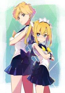 Rating: Safe Score: 19 Tags: amaryllis_class cosplay crossover kotohara_hinari sailor_moon tama_(tama-s) tenou_haruka User: saemonnokami