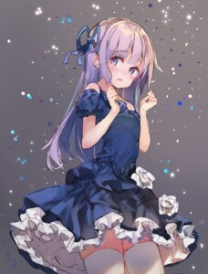 Rating: Safe Score: 58 Tags: aikatsu! dress hikami_sumire makiss012_ak thighhighs User: Mr_GT