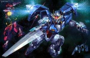 Rating: Safe Score: 5 Tags: 00_gundam gn-xiii gundam gundam_00 mecha User: drop