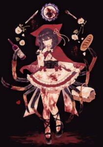 Rating: Safe Score: 13 Tags: blood little_red_riding_hood_(character) monster_girl y_o_u_k_a User: Dreista