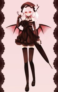 Rating: Safe Score: 13 Tags: dress lolita_fashion remilia_scarlet ringpearl thighhighs touhou User: yumichi-sama