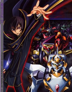 Rating: Safe Score: 9 Tags: code_geass kimura_takahiro lelouch_lamperouge male mecha nakada_eiji User: Hitou