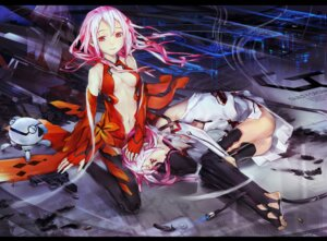 Rating: Safe Score: 60 Tags: bodysuit cleavage el-zheng guilty_crown thighhighs yuzuriha_inori User: Nekotsúh