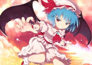 Rating: Safe Score: 13 Tags: remilia_scarlet shin_(ryuu3939) touhou wings User: Radioactive