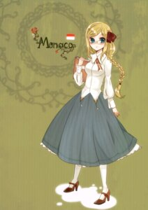 Rating: Safe Score: 6 Tags: hetalia_axis_powers monaco pantyhose raayu User: Radioactive