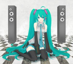 Rating: Safe Score: 8 Tags: hatsune_miku moz thighhighs vocaloid User: anaraquelk2