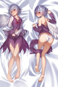 Rating: Questionable Score: 71 Tags: ass dakimakura kishin_sagume no_bra notsugimi open_shirt pantsu touhou wings User: nphuongsun93