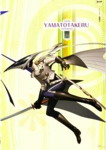 Rating: Safe Score: 1 Tags: megaten persona persona_4 soejima_shigenori sword yamato_takeru User: admin2
