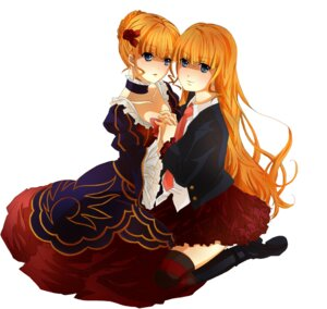 Rating: Safe Score: 5 Tags: beatrice dress moeou thighhighs umineko_no_naku_koro_ni User: Radioactive