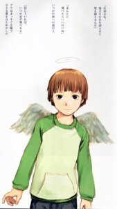Rating: Safe Score: 2 Tags: abe_yoshitoshi haibane_renmei kuu_(haibane_renmei) wings User: Davison