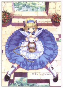 Rating: Safe Score: 45 Tags: alice alice_in_wonderland dress jpeg_artifacts ueda_ryou white_rabbit User: ming_tt