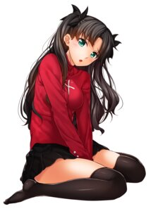 Rating: Safe Score: 71 Tags: chobipero fate/stay_night thighhighs toosaka_rin User: Mr_GT