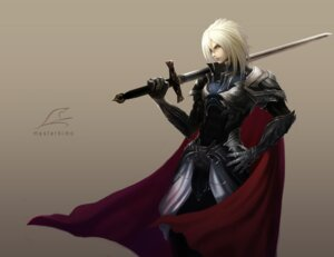 Rating: Safe Score: 22 Tags: armor male sword sword_world tachikawa_mushimaro User: yumichi-sama
