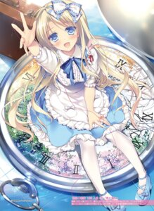 Rating: Safe Score: 75 Tags: alice alice_in_wonderland dress heels motomiya_mitsuki pantyhose User: yu33960
